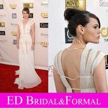 Clea DuVall Kleid 2013 Kritiker Choice Awards Abendkleid Berühmtheits-roter Teppich