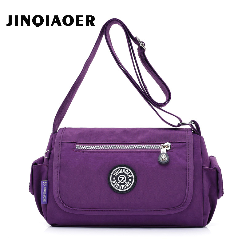 Women Nylon Bags For Women Shoulder Bag Woman Handbag Multilayer Bags Nylon Messenger Bag