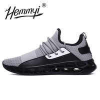 2018 Hot Sale Fashion Shoes Men Breathable Casual Sneaker Autumn Trainers Lace up Mesh Krasovki Men Footwear Plus Size 45 46