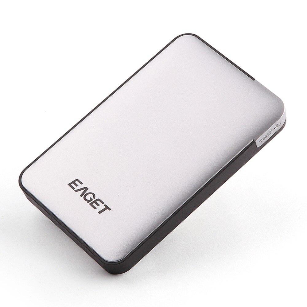 Eaget 500G/1 T/2 T/3 T HDD EAGET disque dur Mobile haute vitesse USB 3.0 boîtier externe boîtier de stockage de bureau