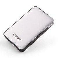 Eaget 500G/1T/2T/3T HDD EAGET Mobile Hard Drive Disk High Speed USB 3.0 External Enclosure Case Desktop Storage Device
