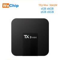 TX3 Mini Android 7 1 Smart Tv Box 2GB 16GB Amlogic S905W Quad Core 2 4G
