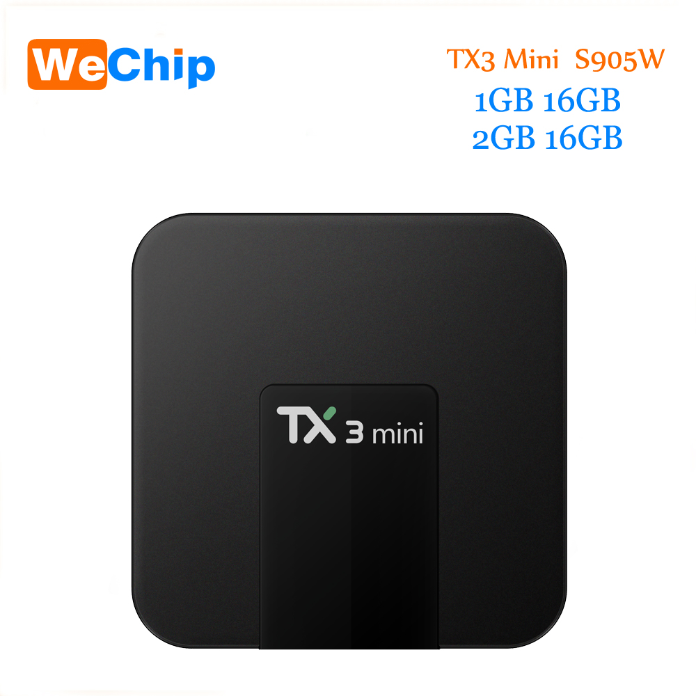 TX3 Mini Android 7.1 Smart Tv Box 2GB 16GB Amlogic S905W Quad Core 2.4G Wifi Support H.265 4K Media Player PK H96Pro Plus Tv Box mk903v rk3288 quad core de android 5 1 smart tv stick mini pc 2g 8g 4k 2k h 265 2 4ghz 5ghz dual wifi otg usb smart tv