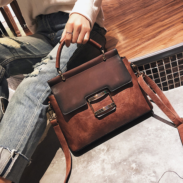 6f565e0df4b US $20.81 38% OFF|Aliexpress.com : Buy Famous Brands Luxury Fashion Large  Capacity Women Bags Leather Shoulder Bag Casual Handbags Female Messenger  ...