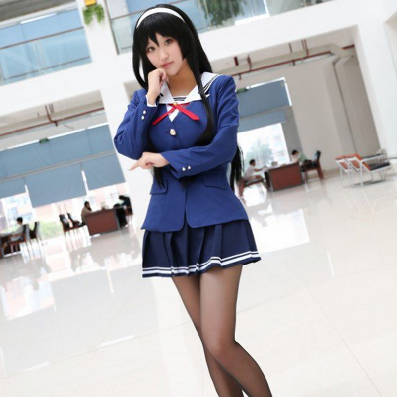 Katou Megumi cosplay वेशभूषा जापानी - की वेशभूषा