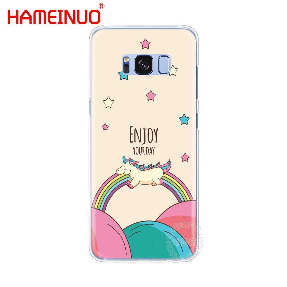 HAMEINUO Единорог на радуге Jetpack чехол для сотового телефона samsung Galaxy S9 S7 edge PLUS S8 S6 S5 S4 S3 MINI