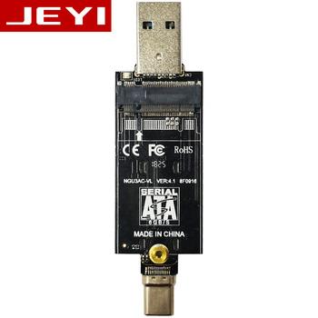 JEYI IOIO TYPE-C USB3 1 USB3 0 m 2 NGFF SSD komórkowy dysku za pomocą VLI716 wsparcie wykończenia SATA3 6 gb s UASP aluminium dysk twardy SSD zał tanie i dobre opinie IOIO Series VLI VL716