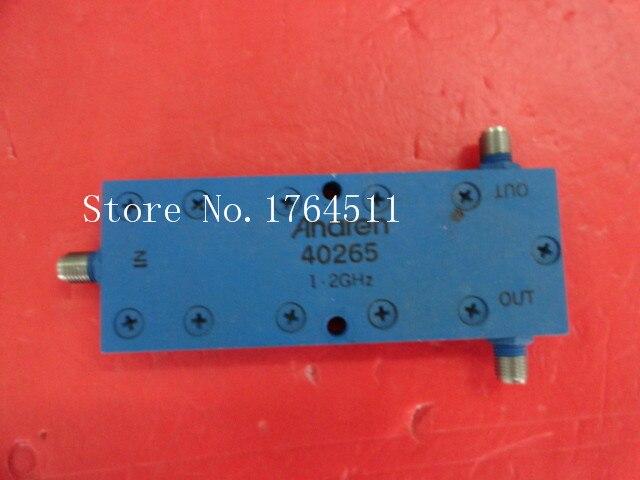 [BELLA] Supply ANAREN 40265 1-2GHz RF Coaxial Power Divider SMA A Two