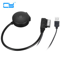 1PCS Media In AMI MDI To Bluetooth Audio Aux USB Female Cable For Car VW AUDI