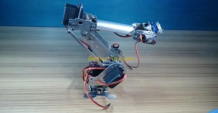 6 Degrees Of Freedom Manipulator Robot Manipulator Six-Axis Robot Industrial Robot Model new 17 degrees of freedom humanoid biped robot teaching and research biped robot platform model no electronic control system
