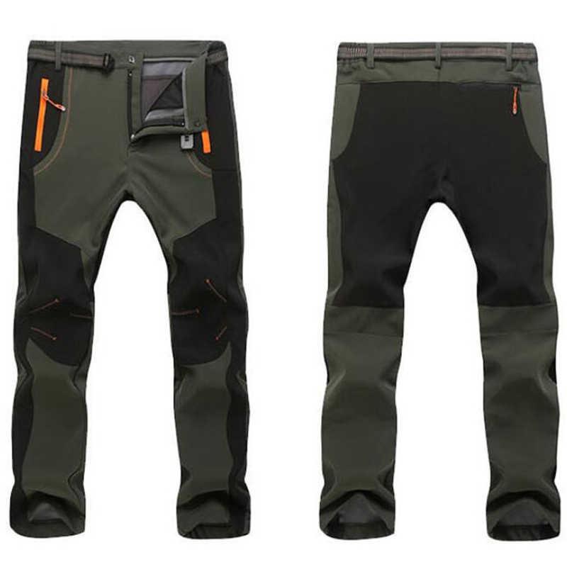 Resistentes Al Agua A Prueba De Viento Y Calidos Tacvasen Pantalones De Invierno Con Forro Polar Para Hombre Hombre Deportes Y Aire Libre