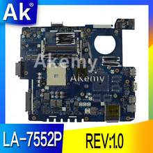 AK K53Z Laptop motherboard für ASUS K53TA K53TK K53T K53 K53Z Test original mainboard LA-7552P REV: 1,0(China)