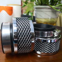 Taiwan high quality 35/39/42/45/48/50/52/54/60mm Motorcycle Mushroom Head Air Filter Clamp On Air Filter Cleaner
