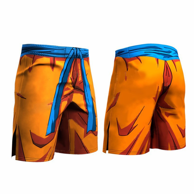 Bermuda Beach Pants 3D Dragon Ball Swimming Trunks Shorts Men Cool Summer Mens Womens Leisure Swimwear Super Shiyan Surf Shorts