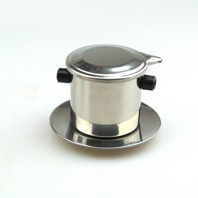 Portable Coffee Maker Stainless Steel Mini Drip Pot Filter Tea Filters Tools