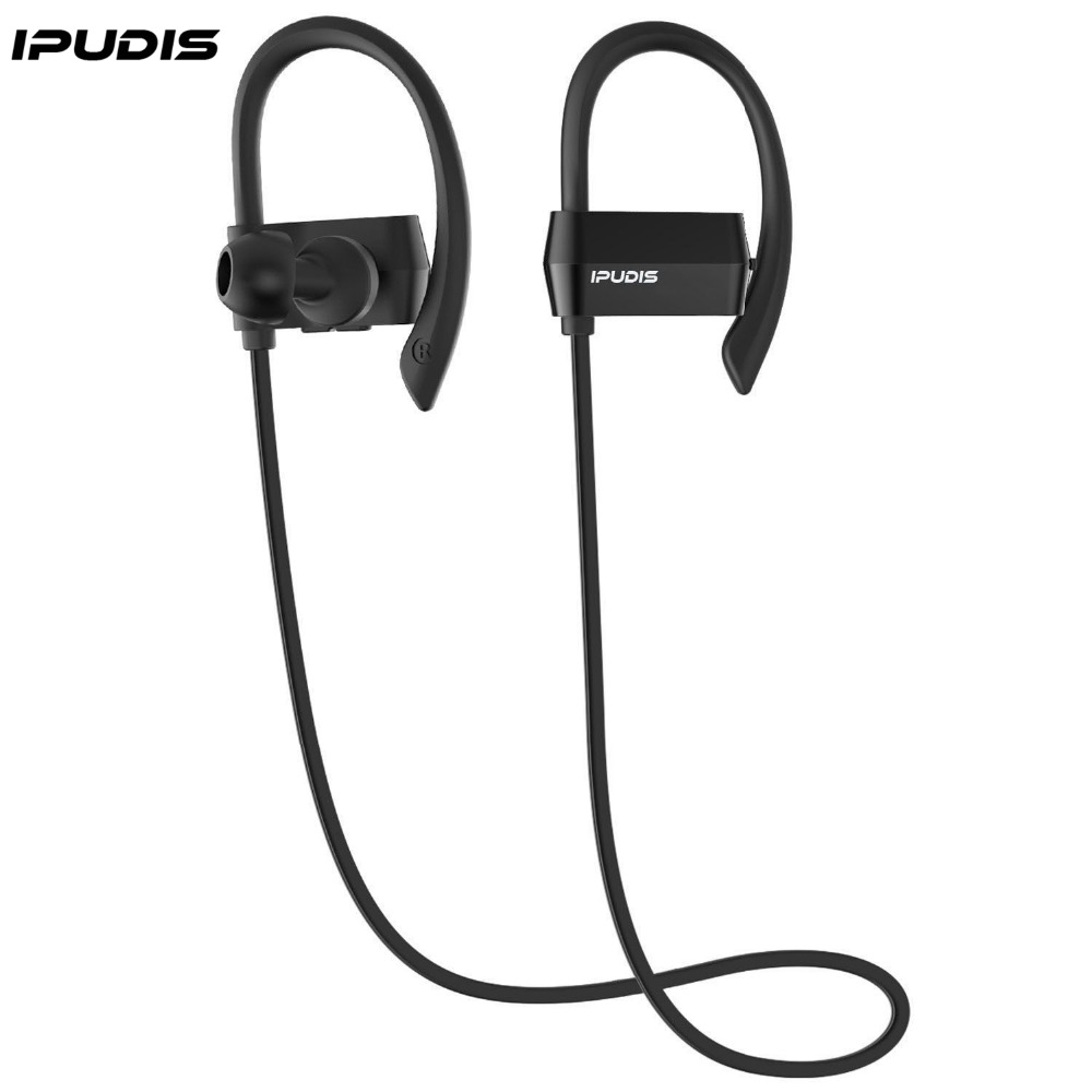 ipudis nano coating waterproof bluetooth earbuds ear hook earphone sport wireless headset. Black Bedroom Furniture Sets. Home Design Ideas