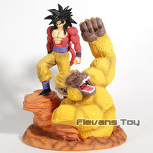 Anime Dragon Ball Z Son Goku Super Saiyan 4 Resina Estátua Figura Coleção Toy Modelo(China)
