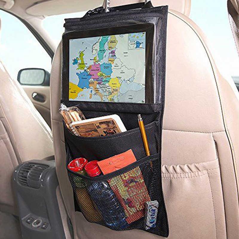 2018 รถที่นั่ง Ipad แขวนกระเป๋าเด็กกระเป๋า Ipad สำหรับรถยนต์รถ Headrest ผู้ถือแท็บเล็ตกระเป๋ากลับที่นั่งกระเป๋า