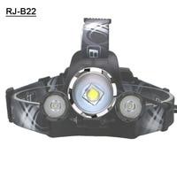 Boruit B22 L2 Масштабируемые фара 9000LM светодио дный головного света * L2 огни 18650 Аккумуляторная фары с Usb кабель