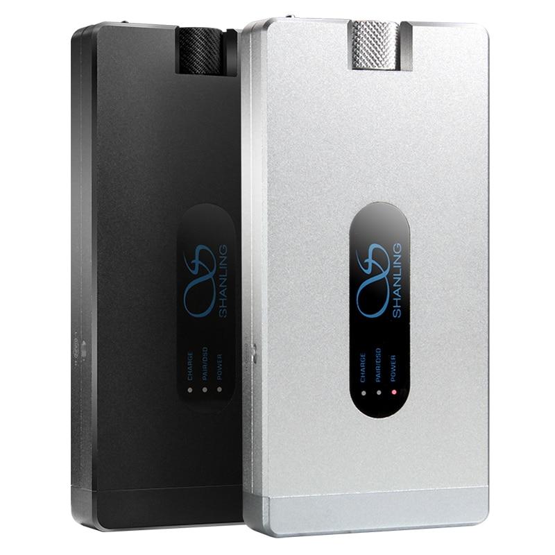 Shanling H3A DSD256 384kHz/32bit DoP12 Bluetooth 4.0 HIFI Portable Headphone Amplifier for Iphone /Mac/ Android phones/ PC/ TV cozoy rei mini dac headphone amplifier dsd256 32bit 384khz