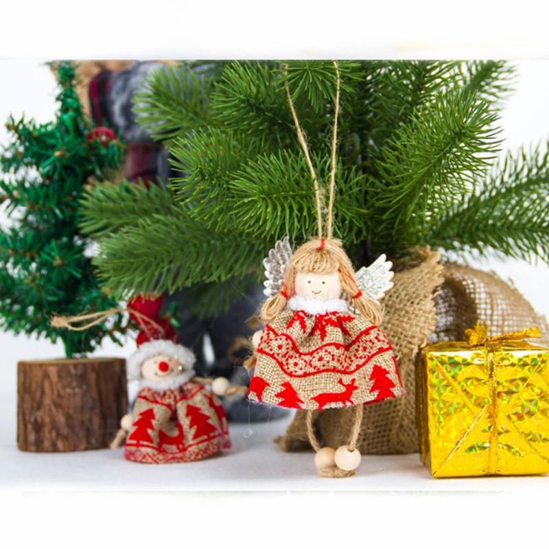 Christmas decorations Christmas Doll Toy for home ...