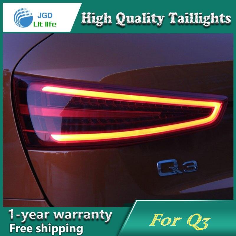 Car Styling Tail Lamp case for Audi Q3 Tail Lights LED Tail Light Rear Lamp LED