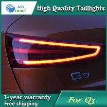 Автомобильный Стайлинг, задний фонарь, чехол для Audi Q3, задний светильник s, светодиодный задний светильник, задний фонарь, СВЕТОДИОДНЫЙ DRL+ тормоз+ Парк+ сигнальный стоп-сигнал