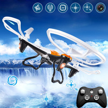 JJRC H10 RC Quadcopter 2.0MP HD Camera 2.4G Drone 6Axis Headless Model One Key Return Toy Child Gift