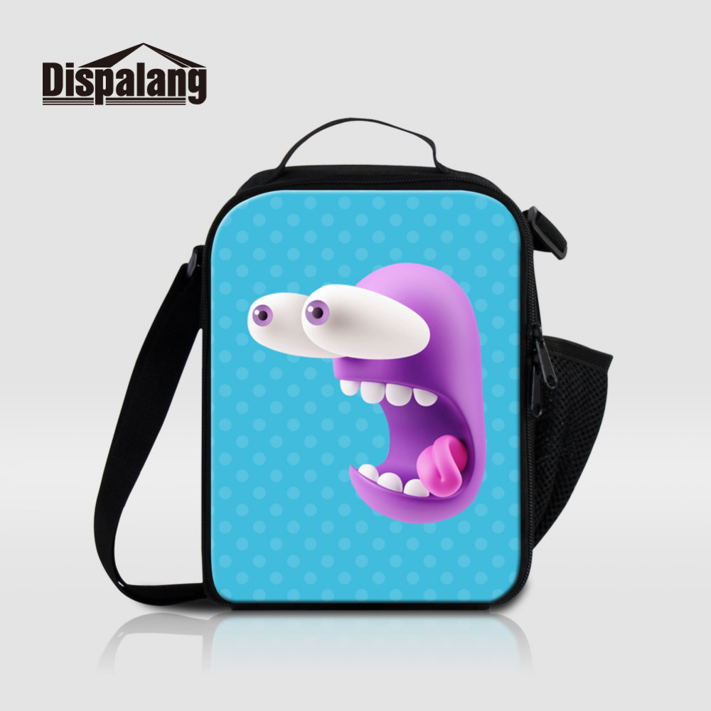 Dispalang Cartoon Animal Lunch Bags Student Screaming Portable Insulated Lunch Box For Kids Cooler Box Tote Bag Thermal Food Bag