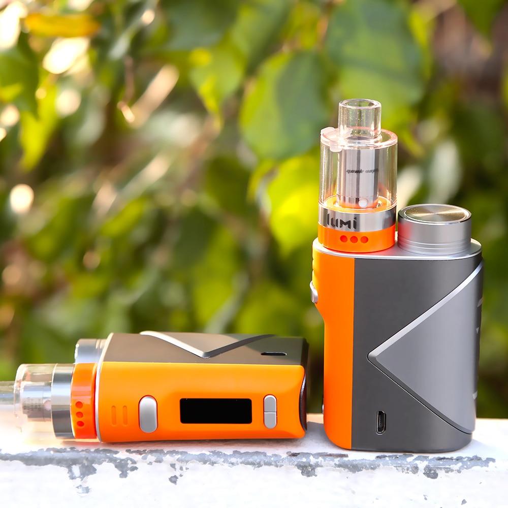 Kit de Vape d'origine Geekvape lucide 80 W avec réservoir Luchid 4 ml bobine de maille Lumi atomiseur réservoir E Cigarette Kit de Vape Vs Ageis Mini