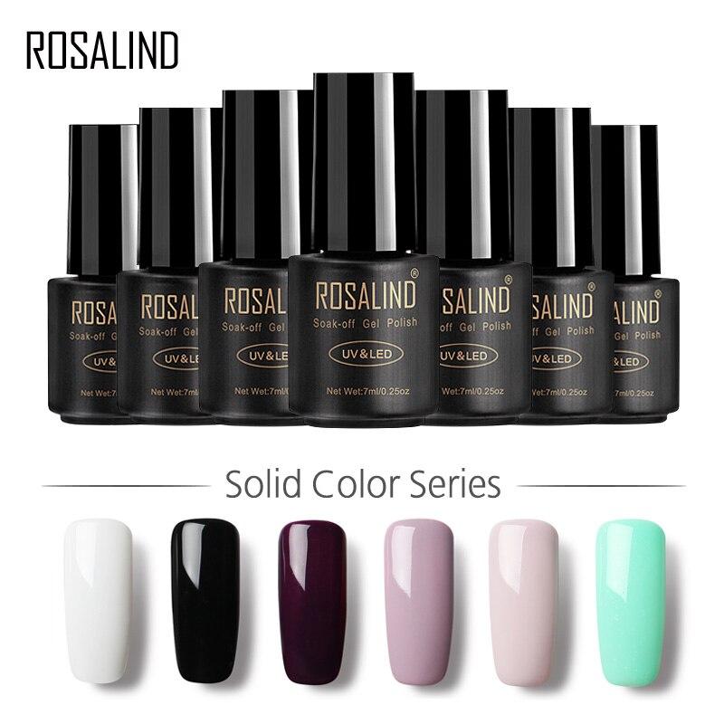 ROSALIND Gel 1 HEIßER VERKAUF 29 FARBEN 7 ml Gel Nagellack Nail art UV LED Gel Lack Für Nagel erweiterung...