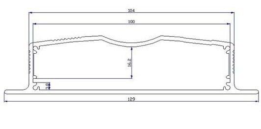 4 Pcs/lot Equipment Case Electrical Enclosure Christmas Laser Projection Light Power Supply Enclosure 29*128*80 Mm
