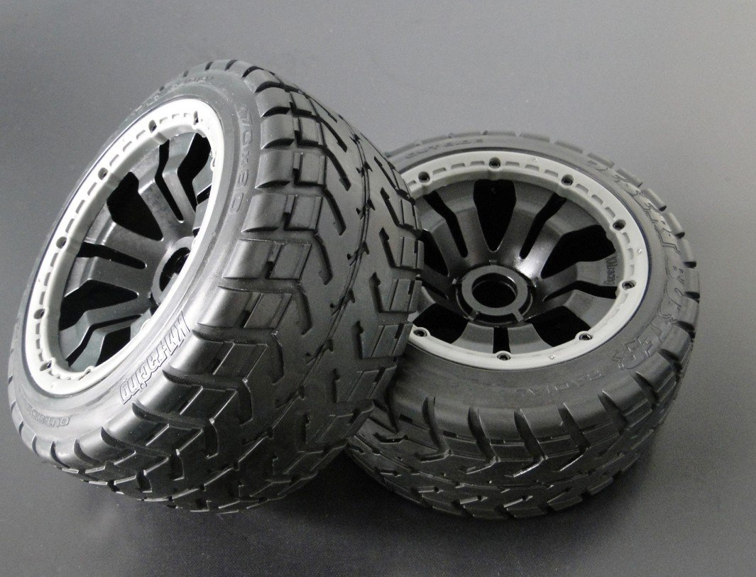 baja 5b rear on road wheels set A (only rear) baja 5b off road front wheels set only 2pc front