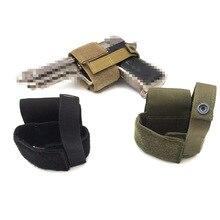 Универсальный тактический страйкбол пистолет кобура ОХОТА MOLLE пистолет сумка крюк и петля для Glock 17 18 19 1911 e. t. c. Пистолет Чехол