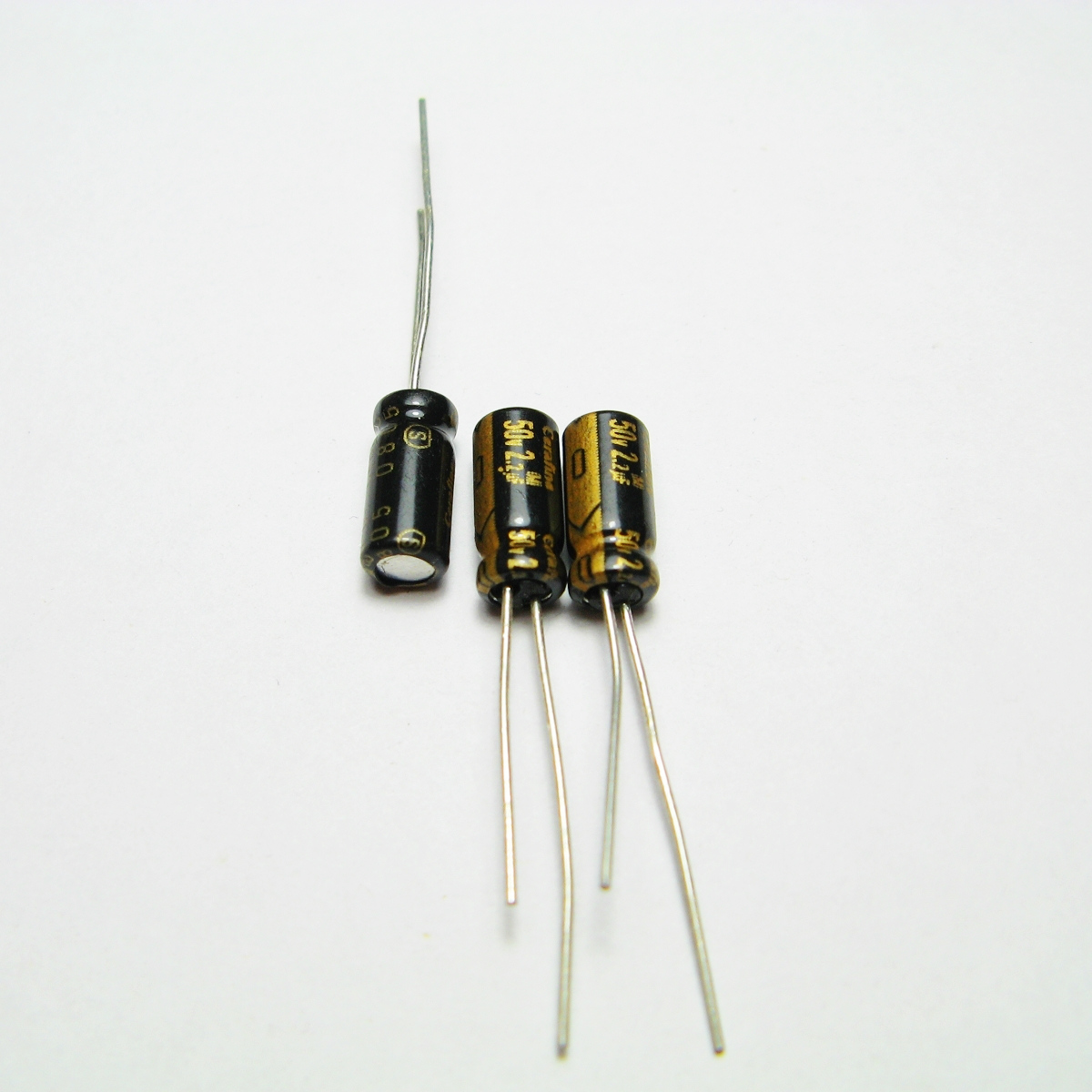 50V2.2uf aluminum electrolytic capacitor Audio Capacitors Electronic Components
