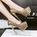 high heels shoes woman pumps shoes sexy extreme high heels wedding shoes patent leather heeled party shoes for women D938