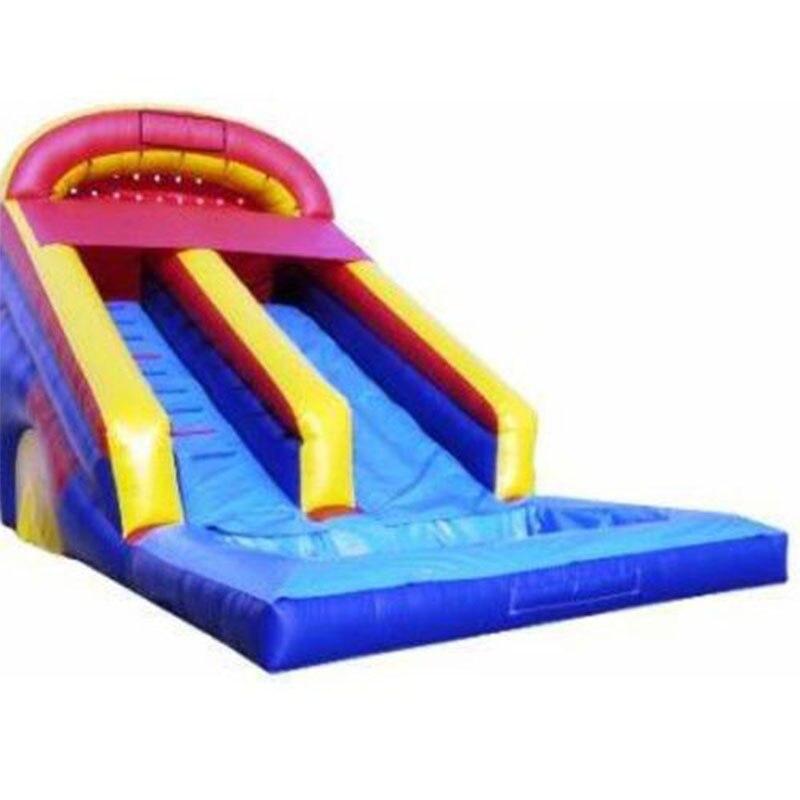 Children amusement park giant inflatable games big inflatable slide inflatable pool slides