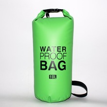 10L 15L Outdoor PVC Swimming Waterproof Dry Ocean Pack Sack Pouch Bag Swim Rafting Impermeable Water Proof Bag 12l inflatable pvc hermetic dry waterproof bag pouch ocean pack for swimming water proof bag impermeable backpack swim buoy