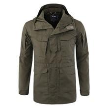 2018 Men Tactical Clothing US Army Windproof Military Field Jacket Coats Hoodie Casaco Masculino Windbreaker Men Autumn winter цена