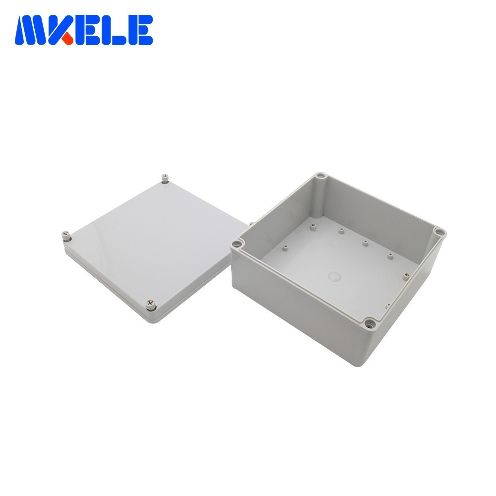 IP65 Waterproof Electrical Boxes Outdoor Plastic Case For Electronics Electro Project Box Enclosure ABS Material Connection Box aluminum exterior electrical enclosure outdoor waterproof use for electronics pcb box connection junction box project case