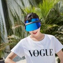 New Visor Sun Hat Golf Tennis Beach Unisex Cap Summer UV Protection Transparent Hats