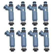 8ピース/ロット新燃料噴射装置23250から50040 23209から50040ランドクルーザーツンドラレクサスGX470 LX470 4.7L