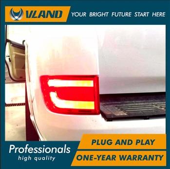 Land Cruiser üçün Vland LED arxa bamper reflektor yüngül - Avtomobil işıqları - Fotoqrafiya 2