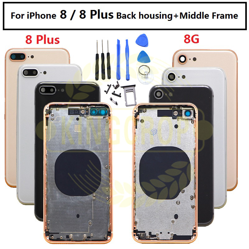 For iphone 8 8G 8 Plus New Back Middle Frame Chassis Full