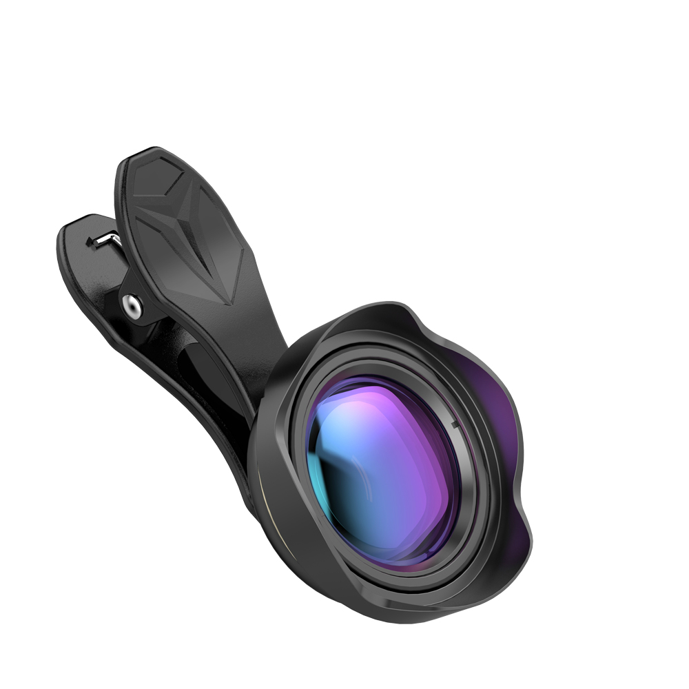 Mobile Phone Lens 0.5X 4K 110 Degree Wider Angle Lenses Professional HD Brand Lens with Hood for iPhone Xiaomi Wholesale