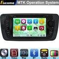 MTK3360 Car DVD Automotivo Para Seat Ibiza 2009 2010 2011 2012 2013 2014 com Radio Stereo Navegação GPS
