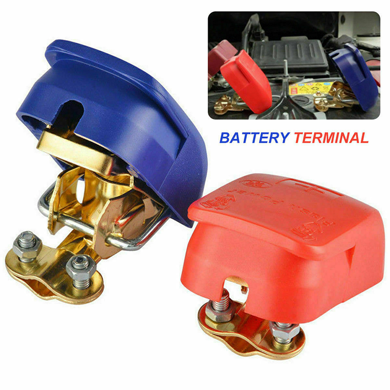 2019 Universal 1 Pair 12V Quick Release Battery Terminals Clamps for Car Caravan Boat Motorcycle Car-styling Car Accessories