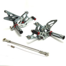 Motorcycle CNC Parts For Honda CBR250R 2011 2012 2013 CBR250R Adjustable Rear set Footrests Footpegs