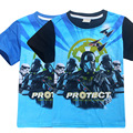 5pcs/lot 2017 New Boys Short Sleeve t-shirt star wars tees t shirt kids clothing