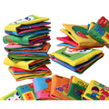 Newest English Language Fabric Cloth Book Learning&Education Baby Toys 0~12 Months Juguetes Bebe Brinquedos Para Bebe